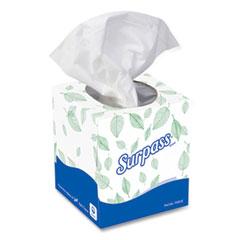 Surpass® Facial Tissue, 2-Ply, White, Pop-Up Box, 110/Box, 36 Boxes/Carton