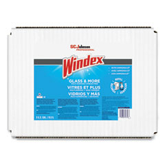 Windex® Glass Cleaner with Ammonia-D®, 5gal Bag-in-Box Dispenser