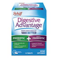 Digestive Advantage® Prebiotic Plus Probiotic, Tablets, 32 Count