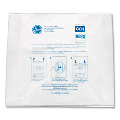 Hoover® Commercial Disposable Vacuum Bags, Hepa CC1, 10/Pack
