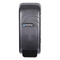 San Jamar® Oceans Universal Liquid Soap Dispenser, 800 mL, 4.5 x 4.38 x 10.5, Black