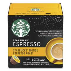 Starbucks Coffee Capsules, Blonde Espresso Roast, 36/Carton