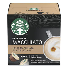 Starbucks Coffee Capsules, Latte Macchiato, 36/Carton