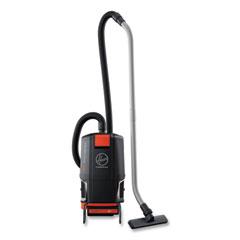 Hoover® Commercial HVRPWR 40V Cordless Backpack Vacuum, 6 qt Tank Capacity, Black/Red