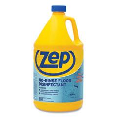 Zep Commercial® No-Rinse Floor Disinfectant, Pleasant Scent, 1 gal, 4/Carton
