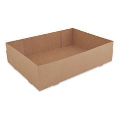 SCT® Donut Trays, 13.5 x 9.88 x 3.38, Brown, 150/Carton