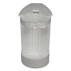 "Impact® Super Toilet Bowl Caddy w/Brush, 4w x 8d, 6"" Long, Plastic"