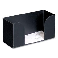 CONTROLTEK® Forms Holder, For Deposit Slips, Tickets, Vouchers, Checks, ABS Plastic, Black