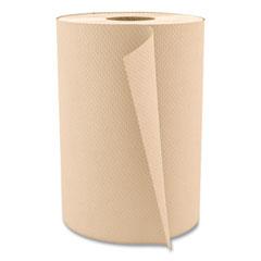 "Boardwalk® Hardwound Paper Towels, 8"" x 350ft, 1-Ply Natural, 12 Rolls/Carton"