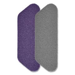 "Diversey™ Twister Floor Pad, Crystal Shield, 17"" Diameter, Gray, 2/Carton"