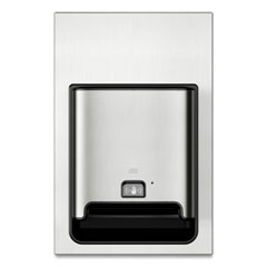 Tork® Image Design Matic Hand Towel Roll Dispenser with Intuition Sensor, Recessed, 17.6 x 7.99 x 26.97, Stainless Steel