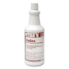 Misty® Bolex 23 Percent Hydrochloric Acid Bowl Cleaner, Wintergreen, 32oz, 12/Carton