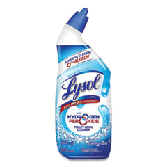LYSOL® Brand Toilet Bowl Cleaner with Hydrogen Peroxide, Ocean Fresh Scent, 24 oz, 9/Carton
