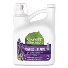 Seventh Generation® Natural Liquid Laundry Detergent, Lavender/Blue Eucalyptus, 99 loads,150 oz,4/CT