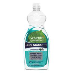 Seventh Generation® Natural Dishwashing Liquid, Ultra Power Plus, Fresh Citrus, 22 oz Bottle, 12/CT