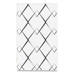 Cambridge® Mackenzie 2-Year Monthly Planner, 6 x 3.5, Black/White Geo, 2022-2023