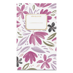 AT-A-GLANCE® Badge Floral Monthly Planner, 6 x 3.5, 2022-2023