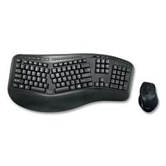 Adesso WKB1500GB Wireless Ergonomic Keyboard and Mouse