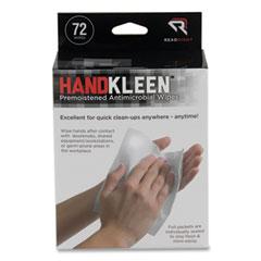 Read Right® HandKleen™ Premoistened Antibacterial Wipes