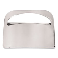 Boardwalk® Toilet Seat Cover Dispenser, 16 x 3 x 11.5, Chrome