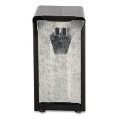 San Jamar® Tabletop Napkin Dispenser, Tall Fold, 3 3/4 x 4 x 7 1/2, Capacity: 150, Black