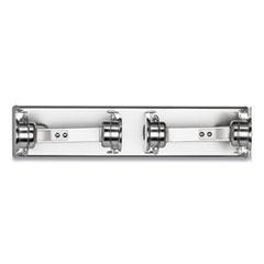 San Jamar® Locking Toilet Tissue Dispenser, 12 3/8 x 4 1/2 x 2 3/4, Chrome