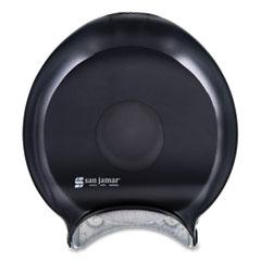 San Jamar® Single-Roll Jumbo Bath Tissue Dispenser, 10 1/4 x 5 5/8 x 12, Black Pearl