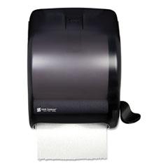 Element Lever Roll Towel Dispenser, Classic, 12.5 x 8.5 x 12.75, Black Pearl