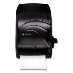 San Jamar® Lever Roll Towel Dispenser, Oceans, 12.94 x 9.25 x 16.5, Black Pearl