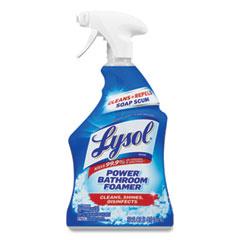 LYSOL® Brand Disinfectant Bathroom Cleaners, Liquid, Atlantic F, 32 oz Spray Bottle