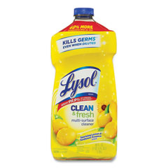LYSOL® Brand Clean and Fresh Multi-Surface Cleaner, Sparkling Lemon and Sunflower Essence Scent, 40 oz Bottle