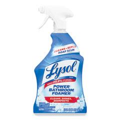 LYSOL® Brand Disinfectant Bathroom Cleaners, Liquid, Atlantic Fresh, 32 oz Spray Bottle, 12/Carton