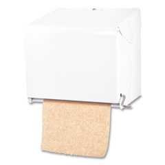 San Jamar® Crank Roll Towel Dispenser, 11 x 8.5 x 10.5, White