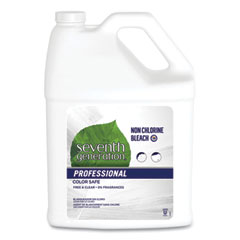 Seventh Generation® Professional Non Chlorine Bleach, Free and Clear, 1 gal Bottle, 2/Carton