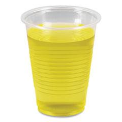 Boardwalk® Translucent Plastic Cold Cups, 7 oz, Polypropylene, 25 Cups/Sleeve, 100 Sleeves/Carton