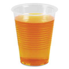 Boardwalk® Translucent Plastic Cold Cups, 10 oz, Polypropylene, 10 Cups/Sleeve, 100 Sleeves/Carton