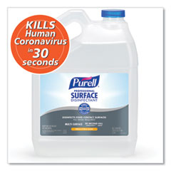 PURELL® Professional Surface Disinfectant, Fresh Citrus, 1 gal Bottle, 4/Carton