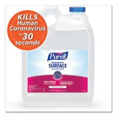 PURELL® Foodservice Surface Sanitizer, Fragrance Free, 1 gal Bottle, 4/Carton