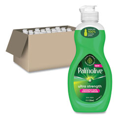 Ultra Palmolive® Dishwashing Liquid, Fresh Scent, 8 oz Bottle, 16/Carton