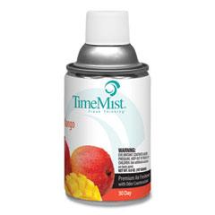 TimeMist® Premium Metered Air Freshener Refill, Mango, 6.6 oz Aerosol Spray, 12/Carton