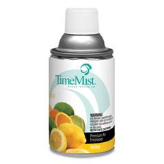 TimeMist® Premium Metered Air Freshener Refill, Citrus, 6.6 oz Aerosol Spray, 12/Carton