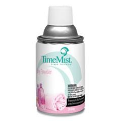 TimeMist® Premium Metered Air Freshener Refill, Baby Powder, 5.3 oz Aerosol Spray, 12/Carton