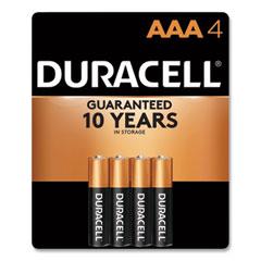 Duracell® CopperTop Alkaline AAA Batteries, 4/Pack