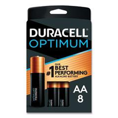 Optimum Alkaline AA Batteries, 8/Pack