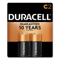 Duracell® CopperTop Alkaline C Batteries, 2/Pack