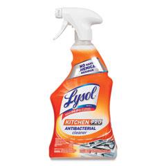 LYSOL® Brand Kitchen Pro Antibacterial Cleaner, Citrus Scent, 22 oz Spray Bottle