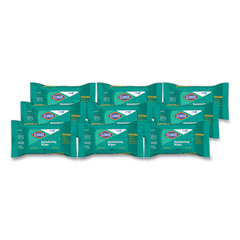 Clorox® Disinfecting Wipes, On The Go Pack, Fresh Scent, 7.25 x 7, 70/Pack, 9 Packs/Carton