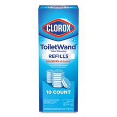 Clorox® Disinfecting ToiletWand Refill Heads, 10/Pack, 6 Packs/Carton