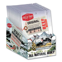 Field Trip® Beef Jerky, Original, 1 oz Bag, 12 Bags/Carton