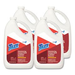Tilex® Disinfects Instant Mildew Remover, 128 oz Refill Bottle, 4/Carton